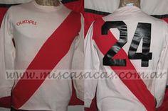 Casacas de River Plate copa america 1981