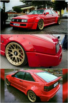 Volkswagen Corrado VR6 Turbo on BBS RSii
