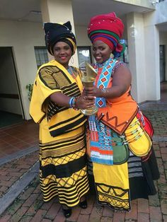 Jes Xhosa Attire, African Attire, African Wear, African Women, African Fashion, African Traditional Wedding, African Traditional Dresses, Traditional Wedding Dresses, Traditional Outfits