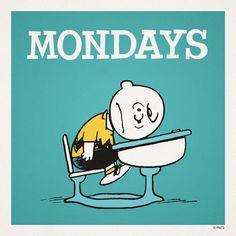 Mondays....exactly how I feel today!!!!!!!!