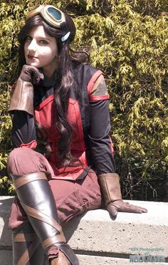 I must do an Asami cosplay!