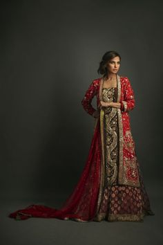Pakistani Bridal Couture by Nida Azwer