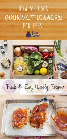 Why Blue Apron Is Cheaper Than the Grocery Store Apple Recipes Easy, Fall Recipes, Keto Recipes, Dinner Recipes, Dinner Ideas, Blue Apron, Grocery Store, Clean Eating, Vegetarian