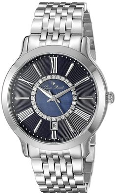 Lucien Piccard Women's LP-40004-33 Sofia Analog Display Quartz Silver Watch ** See this great watch.