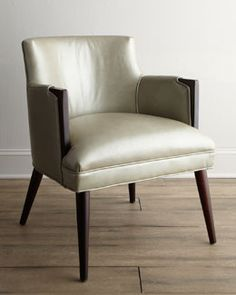 """""""Metro"""" Leather Chair"""