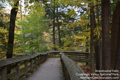 Brandywine Falls, Cuyahoga Valley National Park, Summit County Ohio