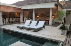 2 Bedroom Villa in Seminyak to rent from £1183 pw. With air con, TV and DVD.