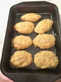 Μπιφτέκια κοτόπουλου !!!! ~ ΜΑΓΕΙΡΙΚΗ ΚΑΙ ΣΥΝΤΑΓΕΣ 2 Cookbook Recipes, Cooking Recipes, Griddle Pan, Food And Drink, Chicken, Meals, Meal, Chef Recipes, Grill Pan