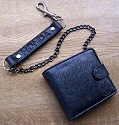 HONDA Bikers Wallet with Chain