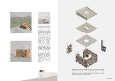 """Image 16 of 26 from gallery of 120 Hours Announces Winners of Its 2017 Competition, """"The Way of the Buyi"""". Image Courtesy of 120 Hours Architecture Concept Drawings, Architecture Panel, Architecture Graphics, Architecture Visualization, Architecture Diagrams, Classical Architecture, Presentation Board Design, Architecture Presentation Board, Architectural Presentation"""