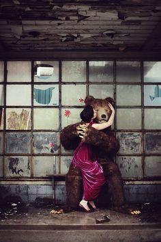 Brigitte & the Bear   by Laura Kok Photography
