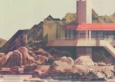 James Gilleard (2016): Beach House, via behance.net