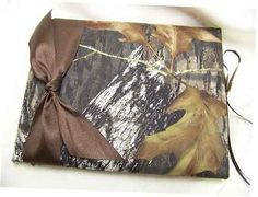 Mossy Oak Breakup Bridal Bride Ring Bearer Pillow Camouflage Wedding All accessories. $18.99, via Etsy.