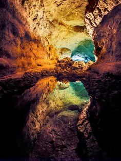 La Cueva de los Verdes : De groene grotten