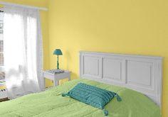 Farbgestaltung Für Ein Schlafzimmer In Den Wandfarben: Mild01.002.03/GRün/ Blau