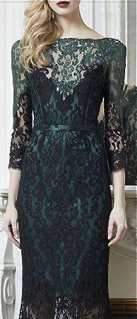 Zuhair Murad Formal evening gown dress lace