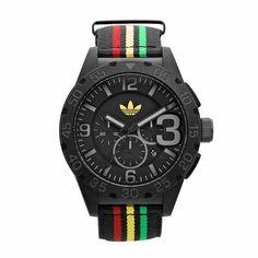 Adidas  http://www.menchic.it/stile-uomo/orologi-chic/orologi-adidas-il-design-deciso-di-newburgh-ed-il-tocco-militare-di-camo-19284.html