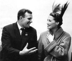 Юрий Гагарин и Майя Плисецкая
