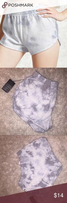 FOREVER 21 shorts FOREVER 21 marble design shorts . NEW WITH TAGS.  Comfortable and stretchy.  ( Please note that lighting may make clothing seem darker or lighter)  •Comes from No smoking home• (reason for sale: bought this but unfortunately its too big on me) Forever 21 Shorts