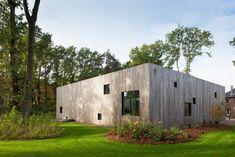 Square House / Cocoon Architecten © Liesbeth Goetschalckx Manufacturers #Vibia Location #Genk, #Belgium