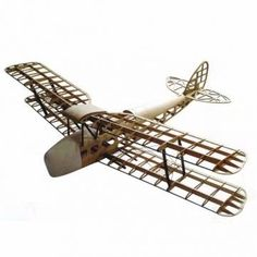 De Havilland DH82a Tiger Moth Biplane 1400mm Wingspan Laser Cut Balsa Kit