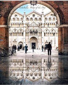 Catedral de Ferrara, Ferrara, Emília-Romanha, Itália