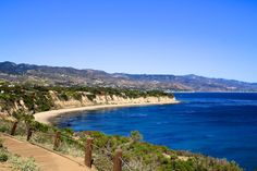 Malibu Coastline - Point Dume national preserve - The trail from the bottom parking lot to the top is a little over a half mile. While not hard, this trail will take you a while simply due to the amazing vistas that welcome you after every bend in the trail.