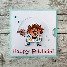 Bagatelas de papel: Tarjeta cumpleañera interactiva - An interactive Birthday card
