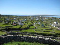Inis Mhor (or Arainn Mhor), the largest of the Aran Islands, Ireland