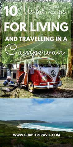 Useful tips for living and travelling in a campervan | Tips for travelling in a campervan | Tips for living in a campervan | Camper life in Australia | Van Life |