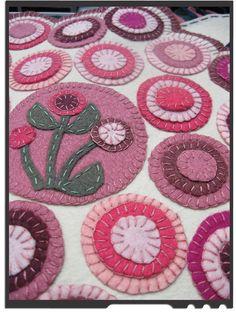 Penny rug