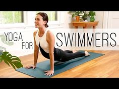 Yoga For Swimmers - Adriene takes care of bass players yet again. While she says this is for swimmers, it is really for us. Swimming Drills, Swimming Tips, Open Water Swimming, Swimming Exercises, Stretches For Swimmers, Workouts For Swimmers, Bike Workouts, Cycling Workout, Dry Land Swim Workouts