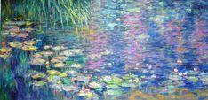NYMPHEAS (Waterlillies) by CLAUDE MONET