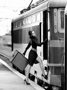 Vintage travelling