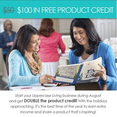 August 31,2015 is the last day for DOUBLE product credits. Join for $99 or $199 and get $100 in FREE product! Join the Uppercase Living family and earn extra income while sharing a product that is inspiring! #WhenWallsTalk #UppercaseLiving #joinmyteam #CEOofmyownbusiness