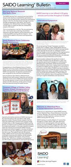 SAIDO Learning Bulletin - March 2018