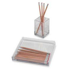 The Container Store > Clear Pencil Organizers