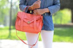 love the coral color