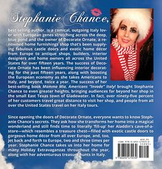 Bestselling author, Stephanie Chance - Beautiful Seductions - From Italy to Decorate Ornate Castle Doors, Exotic Homes, Photos On Facebook, Fun Group, Places In Italy, Italy Tours, Hair Raising, Mamma Mia, Antique Shops
