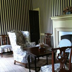 18th century living room - so right now