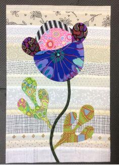 Flower Garden, Kim McLean - Block 3 (Laila Nelson)