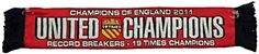 United Champions 19 Times Car Scarf