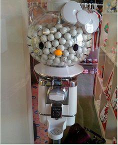 """Hello Kitty"" bubblegum machine...super nice"
