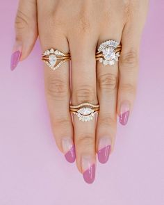 From affordable to luxurious, these are our favorite places to shop for engagement rings, wedding bands & bridal jewelry in every style & budget. #engagementring #proposal #diamond #diamondring #engagement #rings Marrow Fine – The Best Websites to Buy Engagement Rings and Wedding Bands Online Grey Diamond Engagement Ring, Buying An Engagement Ring, Gemstone Engagement Rings, Deco Engagement Ring, Perfect Engagement Ring, Diamond Wedding Bands, Wedding Engagement, Fine Wedding Jewelry, Wedding Rings