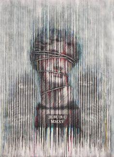 """Saatchi Art Artist Nikos Smyrnios; Painting, """"Je suis C"""" #art"""