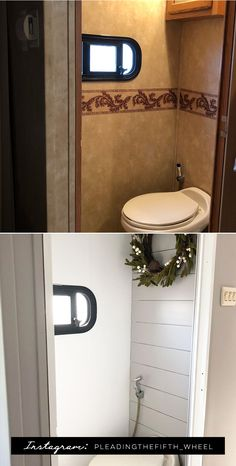 (Camper) Design Vibes: Tour this Modern Boho-Inspired Fifth Wheel From PleadingtheFifth_Wheel! Camper Interior, Diy Camper, Camper Ideas, Rv Interior Remodel, Fifth Wheel Campers, Travel Trailer Remodel, Trailer Decor, Rv Redo, Camper Trailers