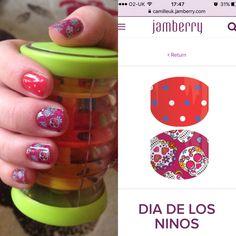 Jamberry Juniors Nail Wraps - Dia De Los Ninos