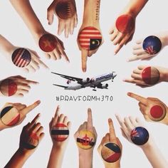 Together we search flight #MH370 and #PrayForMH370 to be found safely.