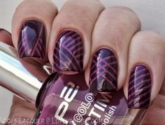 A Purple Tapemanicure