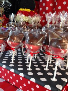 Mickey Mouse Birthday Party Theme Candy Buffet Mickey Mouse Cakepops